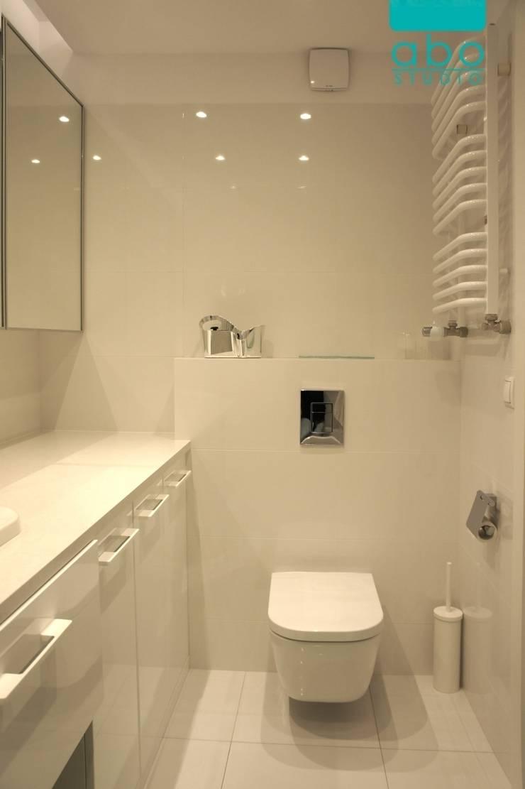 apartament Polanka: styl , w kategorii Łazienka zaprojektowany przez abostudio,Nowoczesny