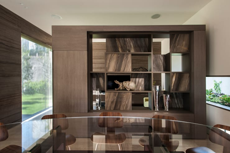Dining room by Gantous Arquitectos,