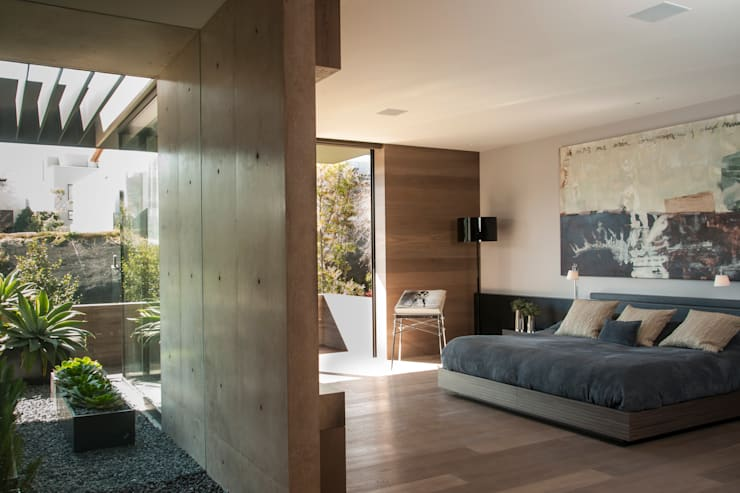 Kamar Tidur oleh Gantous Arquitectos, Modern