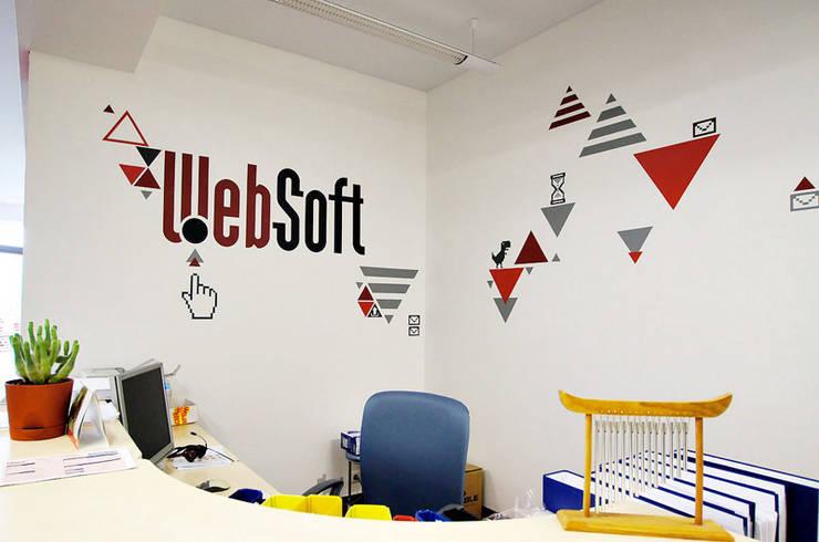 Оформление офиса WebSoft: Офисные помещения в . Автор – 33dodo