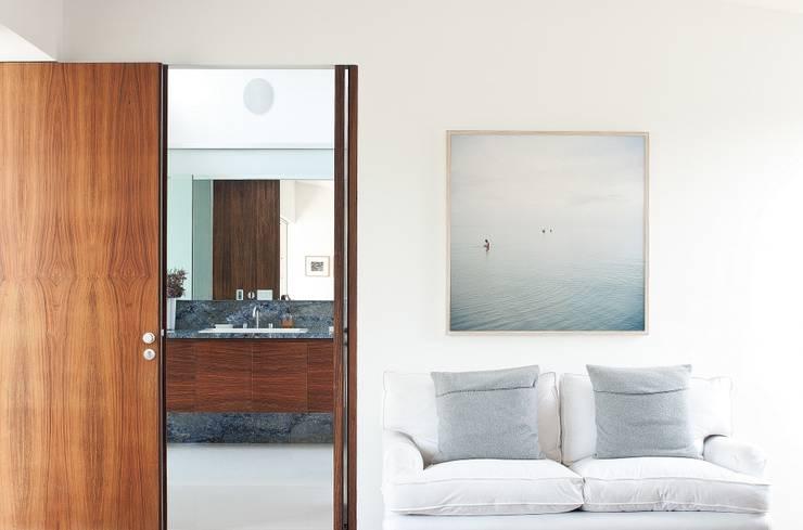 Penthouse Polanco: Baños de estilo  por Gantous Arquitectos