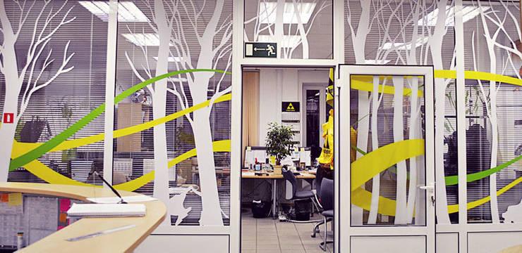 Оформление офиса компании <q>Фишер</q>: Офисы и магазины в . Автор – 33dodo,