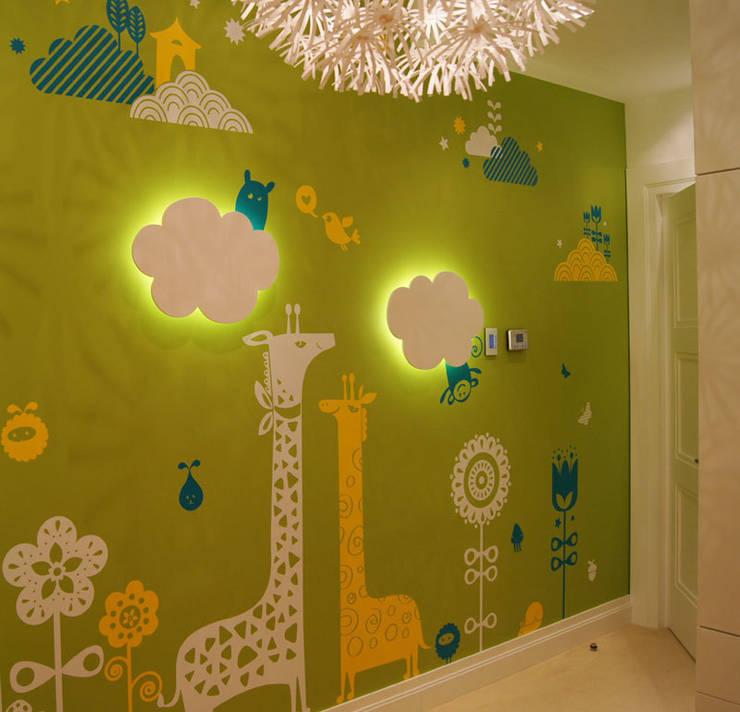 Оформление детской на частной квартире: Детские комнаты в . Автор – 33dodo