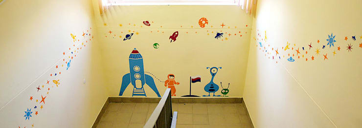 Оформление детского садика в Люберцах: Школы и учебные заведения  в . Автор – 33dodo