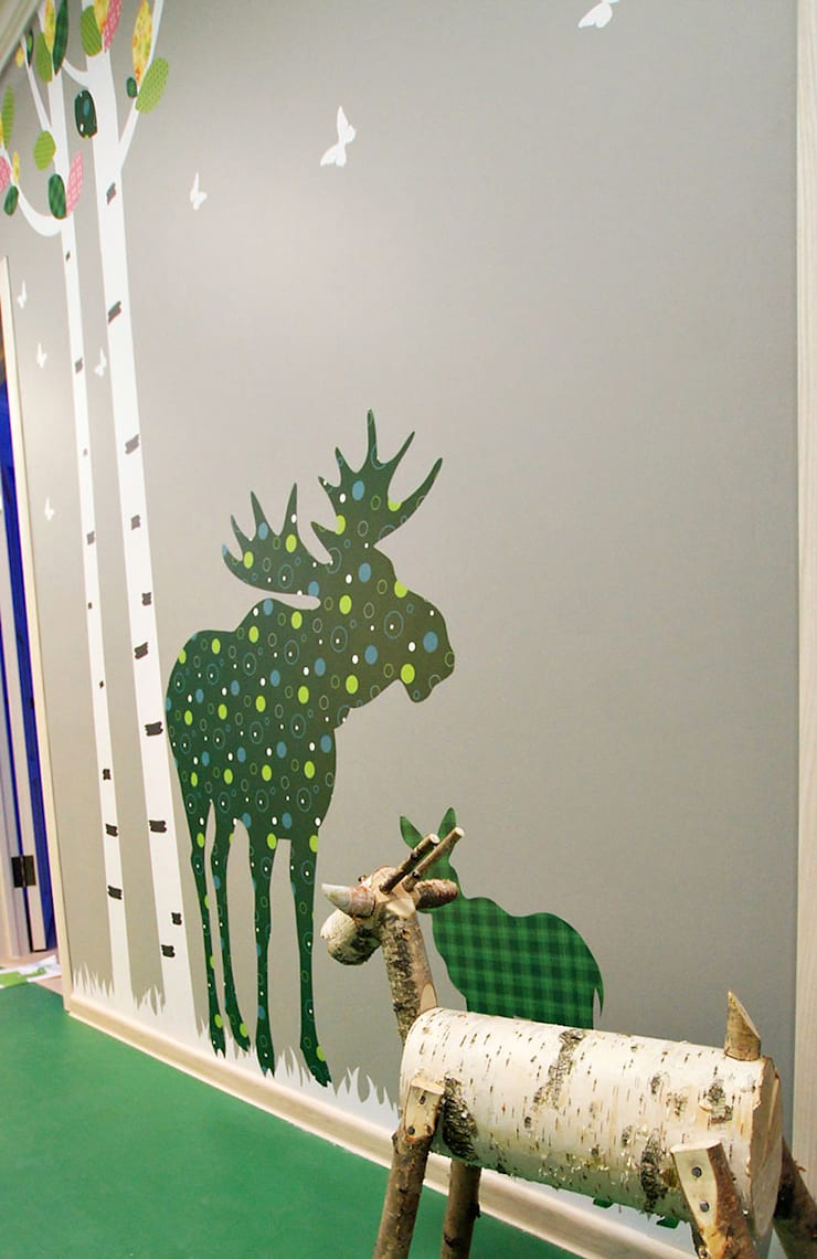 Оформление частного садика в Перово: Школы и учебные заведения  в . Автор – 33dodo