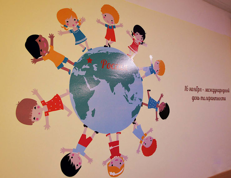 Оформление школы 2051: Школы и учебные заведения  в . Автор – 33dodo