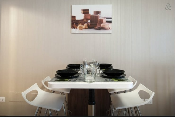 Choco Apartments Opening: Cucina in stile in stile Minimalista di PROJECT AB