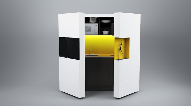 Pop-up kitchen PIA - Web (KL 257S UIFCW) by Dizzconcept Modern