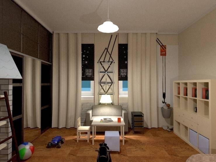 Детская комната : Детские комнаты в . Автор – Art Group 'Tanni'