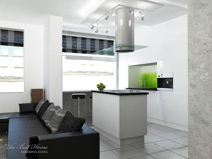 Проект в Москве на Беговой: Кухни в . Автор – Best Home
