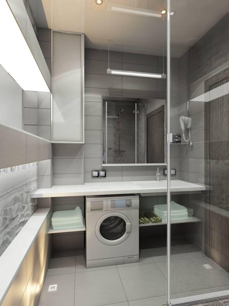 Лунный свет: Ванные комнаты в . Автор – Art Group 'Tanni'
