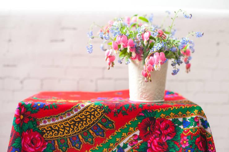 Chusty łowickie: styl , w kategorii Garderoba zaprojektowany przez Folkstar