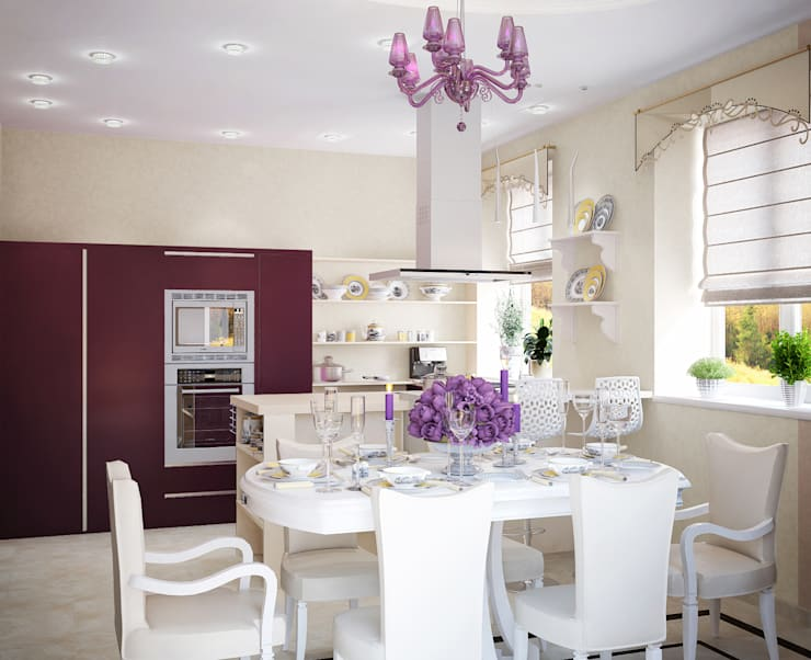 Частный дом: Кухни в . Автор – Art Group 'Tanni'