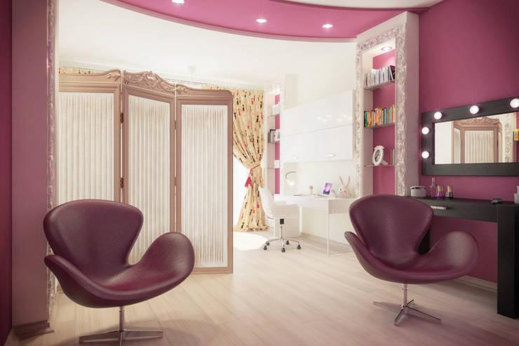 Частный дом: Детские комнаты в . Автор – Art Group 'Tanni'