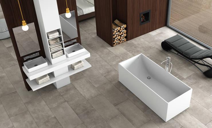 Bañera Line: Baños de estilo moderno de BATH