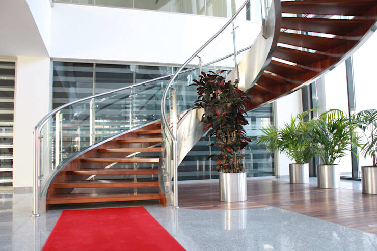 Corridor, hallway & stairs  by Visal Merdiven