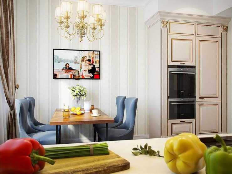Квартира на пр.Маршала Жукова: Кухни в . Автор – Студия дизайна интерьера Маши Марченко