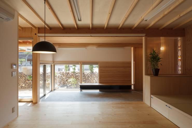吉永の家: 岸本泰三建築設計室が手掛けた和室です。,オリジナル