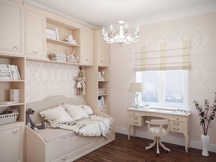 Projekty,  Pokój dziecięcy zaprojektowane przez Студия дизайна интерьера Маши Марченко