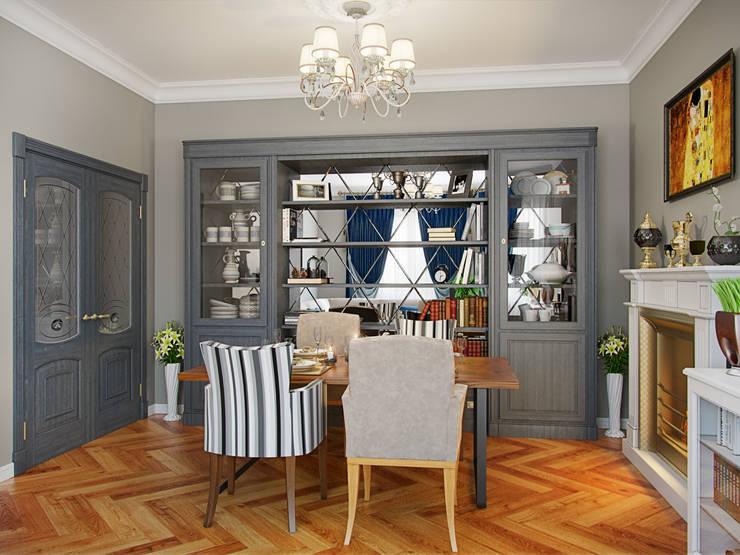 Квартира на пр.Маршала Жукова: Гостиная в . Автор – Студия дизайна интерьера Маши Марченко