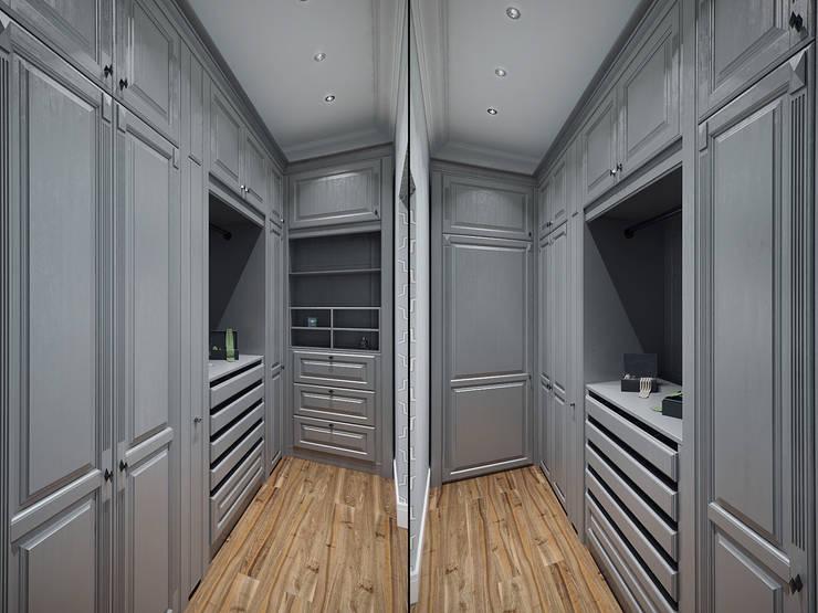 Projekty,  Garderoba zaprojektowane przez Студия дизайна интерьера Маши Марченко