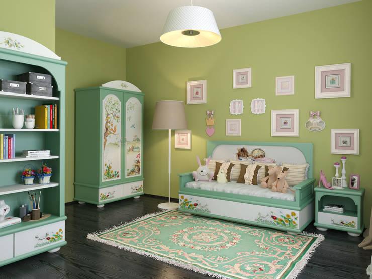 Квартира в скандинавском стиле в Перми: Детские комнаты в . Автор – Студия дизайна интерьера Маши Марченко