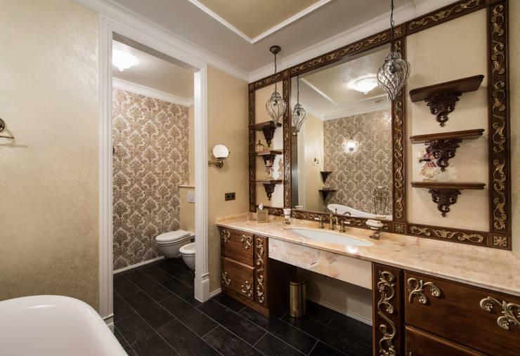 Гармония стилей: Ванные комнаты в . Автор – Premier Dekor