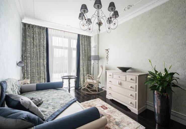 Гармония стилей: Спальни в . Автор – Premier Dekor