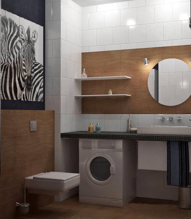 Кварира в Санкт-Петербурге на Ленинградской улице: Ванные комнаты в . Автор – Best Home