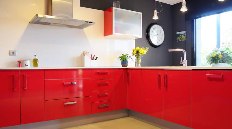 Diseño de interiores de vivienda: Cocina: Cocinas de estilo  de LaMarta interiorismo