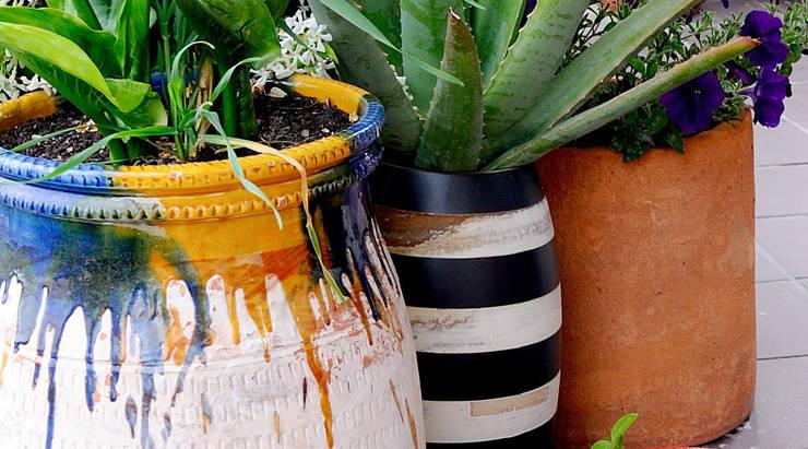 Diseño de exteriores: Decoración jardín: Jardín de estilo  de LaMarta interiorismo