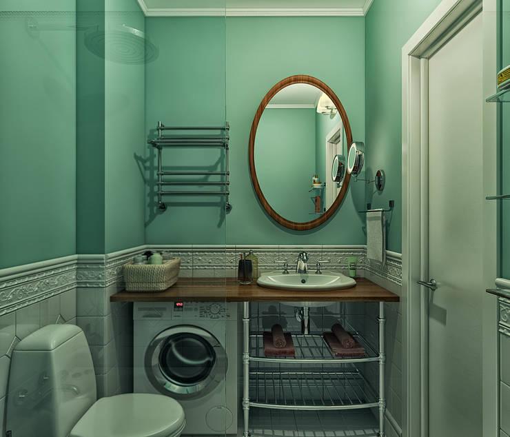 """стиль """"прованс"""": Ванные комнаты в . Автор – sreda"""