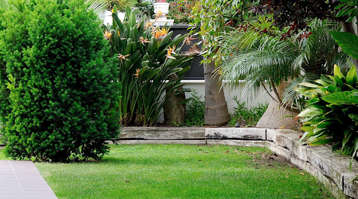 Diseño de exteriores: jardín: Jardines de estilo  de LaMarta interiorismo