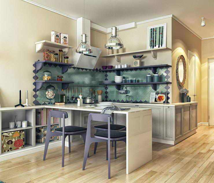 """стиль """"прованс"""": Кухни в . Автор – sreda"""