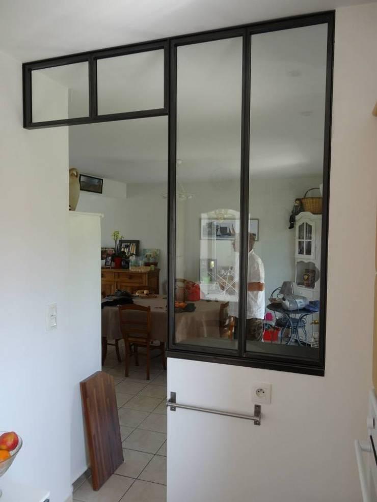 verri res int rieures en acier sur mesure par l decor homify. Black Bedroom Furniture Sets. Home Design Ideas