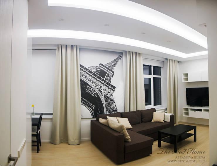 Квартира в Санкт-Петербурге на улице Гастелло: Гостиная в . Автор – Best Home