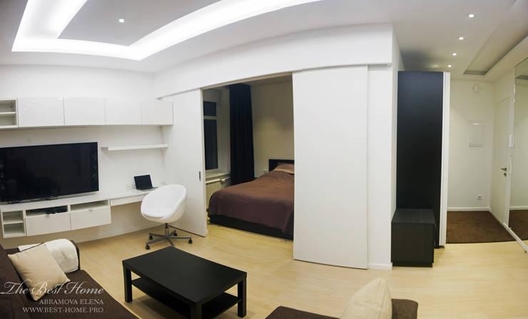 Квартира в Санкт-Петербурге на улице Гастелло: Рабочие кабинеты в . Автор – Best Home