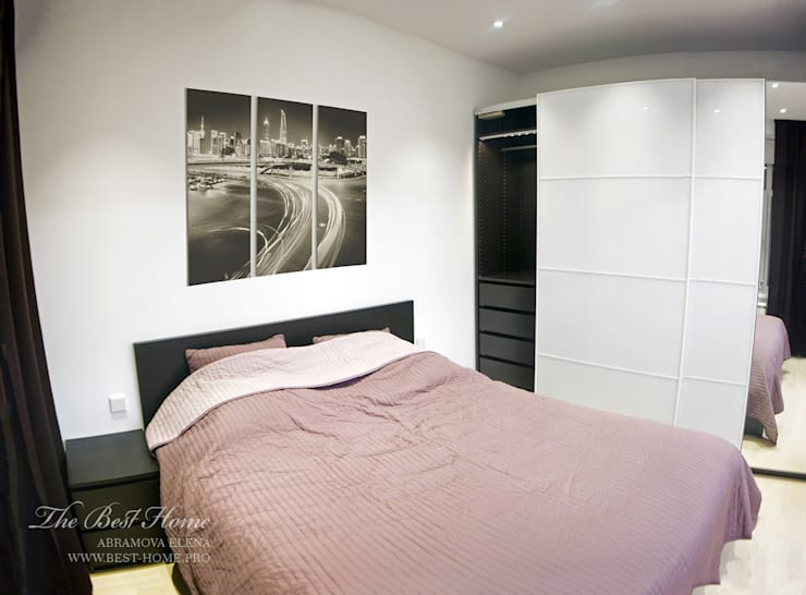 Квартира в Санкт-Петербурге на улице Гастелло: Спальни в . Автор – Best Home