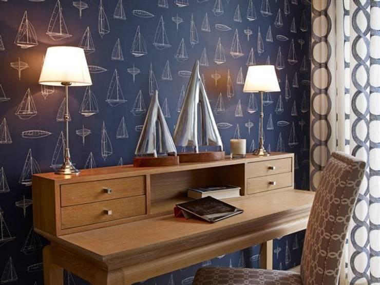 Apartament na Mazurach: styl , w kategorii Sypialnia zaprojektowany przez BBHome Design