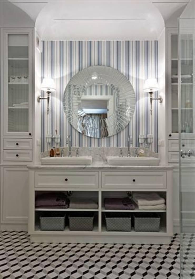 Apartament na Mazurach: styl , w kategorii Łazienka zaprojektowany przez BBHome Design