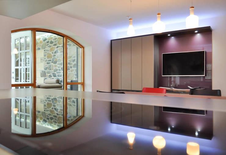 Linlithgow Extension 03 Cocinas de estilo minimalista de George Buchanan Architects Minimalista
