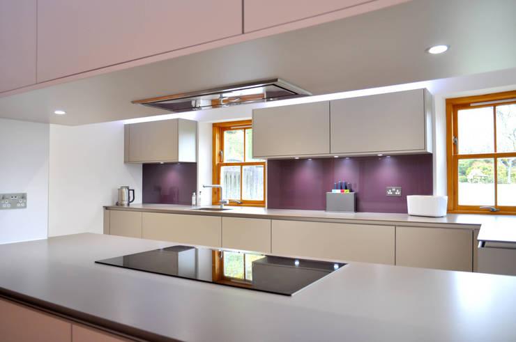Linlithgow Extension 06 Cocinas de estilo minimalista de George Buchanan Architects Minimalista