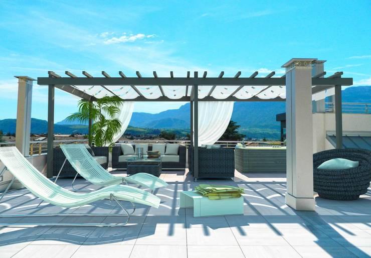 Terrazas de estilo  por Grendene Design