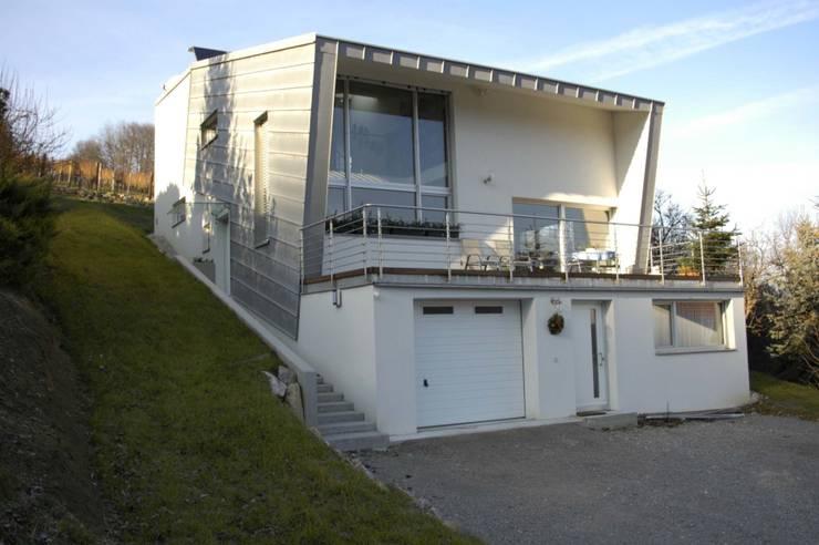 Hanghaus von Süd-Osten :  Häuser von architope