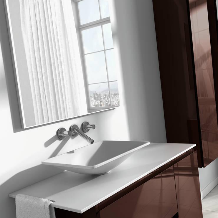 Lavabo Emotion: Baños de estilo minimalista de BATH