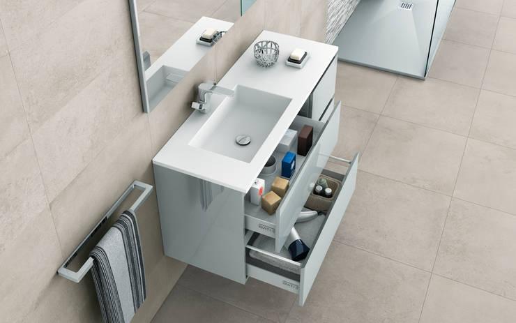 Encimera Urban: Baños de estilo moderno de BATH