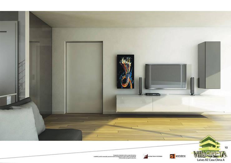 Salas de estar  por Grendene Design, Moderno