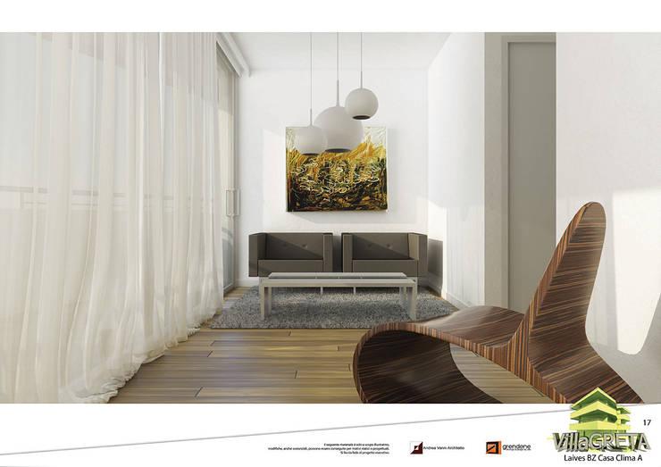 Vista studio unità 1: Studio in stile  di Grendene Design