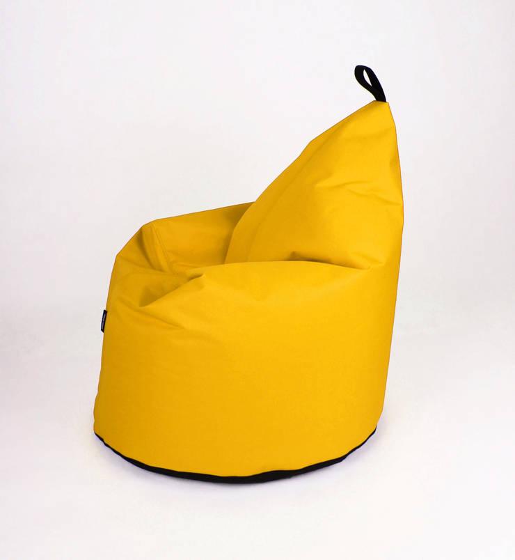 Puf NOL: styl , w kategorii Domowe biuro i gabinet zaprojektowany przez Peos Oskar Perek,