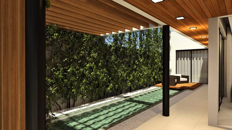 Residência FAE+: Casas  por Quattro+ Arquitetura